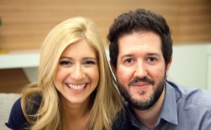 The couple met in 2011 while working at Bloomberg Television in New York.