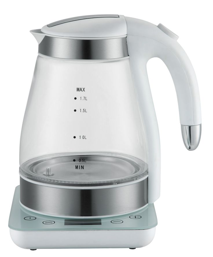 electric glass kettle green and healthy, can keep the temp as well.