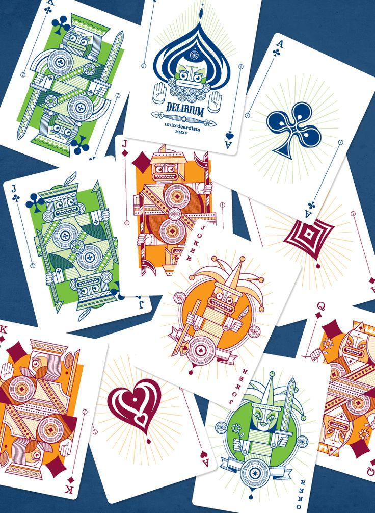 Delirium Playing Cards - Now funding on Kickstarter - https://www.kickstarter.com/projects/thirdwayind/delirium-playing-cards