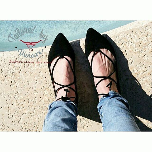 👣 Genuine suede  lace up ballerina flats 😍 #laceupflats #ballerinalaceupflat ☆ Info : outfit of the day  δερμάτινες suede μπαλαρίνες!  Διαθέσιμα  και σε ταμπα | eu size 35 - 42 | ☆☆ INFO : 100% ΓΝΗΣΙΟ ΔΕΡΜΑ ☆☆☆ #boho #bohooutfit #outfit #life #style #leathershoes #leather #fw17 #newcollection  #tailoredbyvivian #bohochic #boho #handmadebyvivi #tailoredbyvivian #greekdesigners #greece #madeingreece #hippielife #hippiespirit #hippie #bohoinspiration #boho
