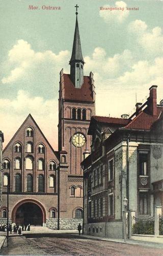 Ostrava, evangelický kostel