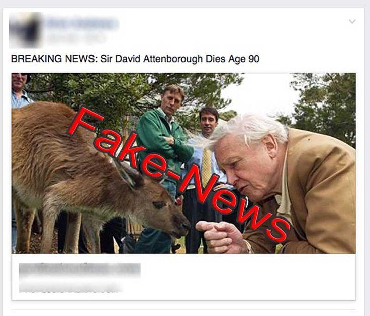 Sir David Attenborough is NOT Dead