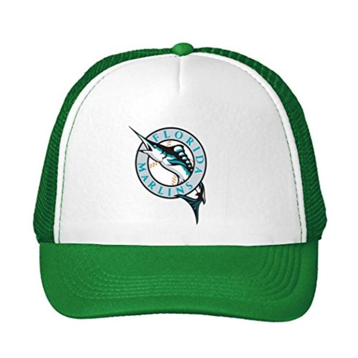 Uien Unisex Personalize Miami Marlins 2016 Adjustable Sun Caps Green - Brought to you by Avarsha.com