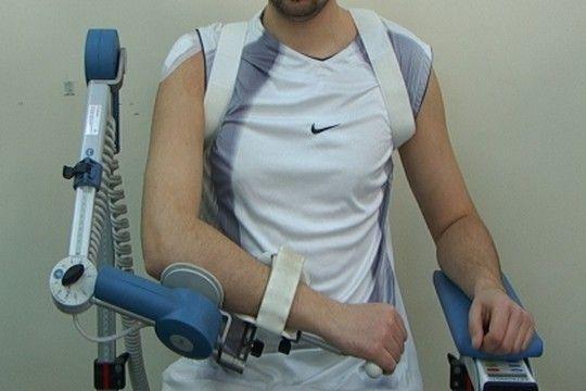 Szyna do ruchów biernych po operacji stawu ramiennego.  #rehabilitacja #Czamara #staw #ramie #rehabilitation #shoulder