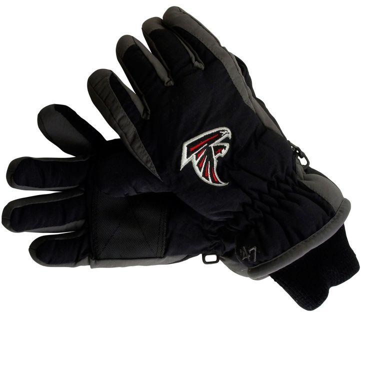 '47 Brand Atlanta Falcons Carve Ski Gloves - Black
