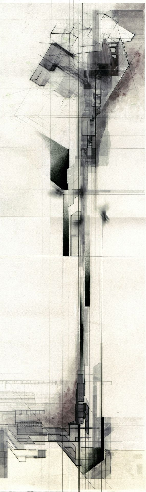 conceptual architecture /// Collin Cobia // tower diagram