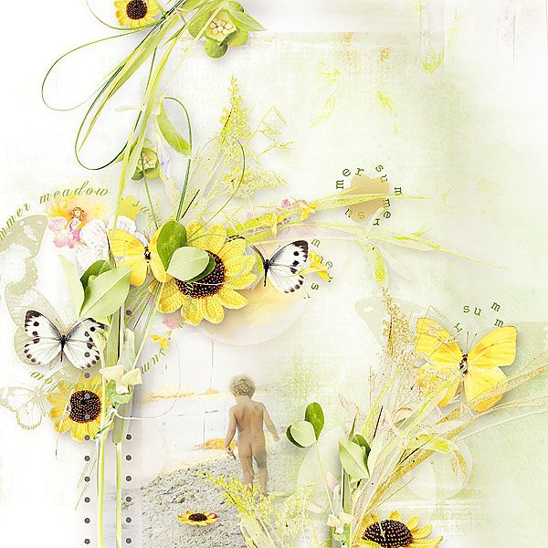 Meadow Butterflies by et designs @ thedigichick