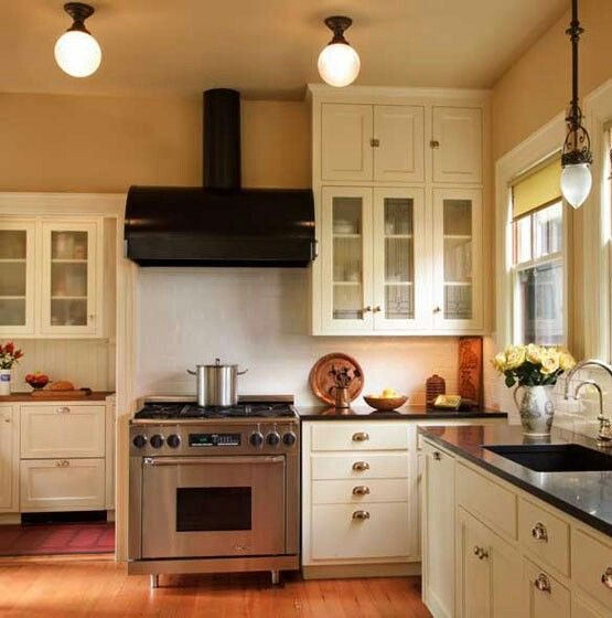 designer kitchens pictures updated 1920s kitchen white cabinets with black counters 3290
