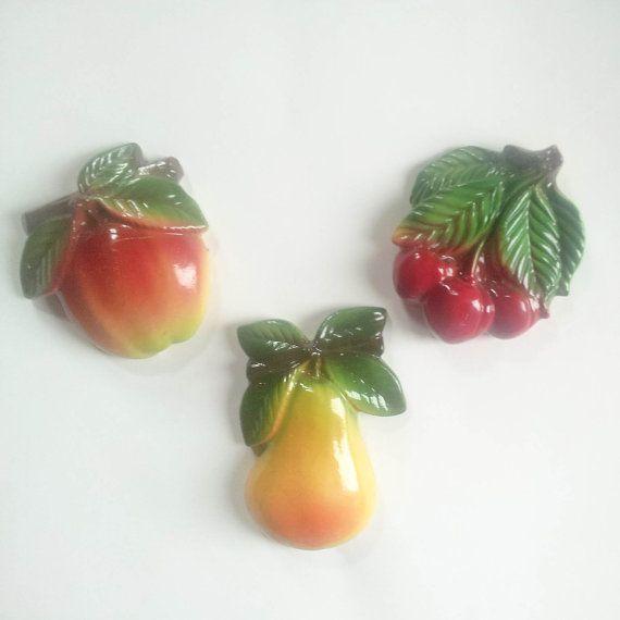 Fruit Wall Decor 51 best chalkware images on pinterest | fruit, vintage kitchen and