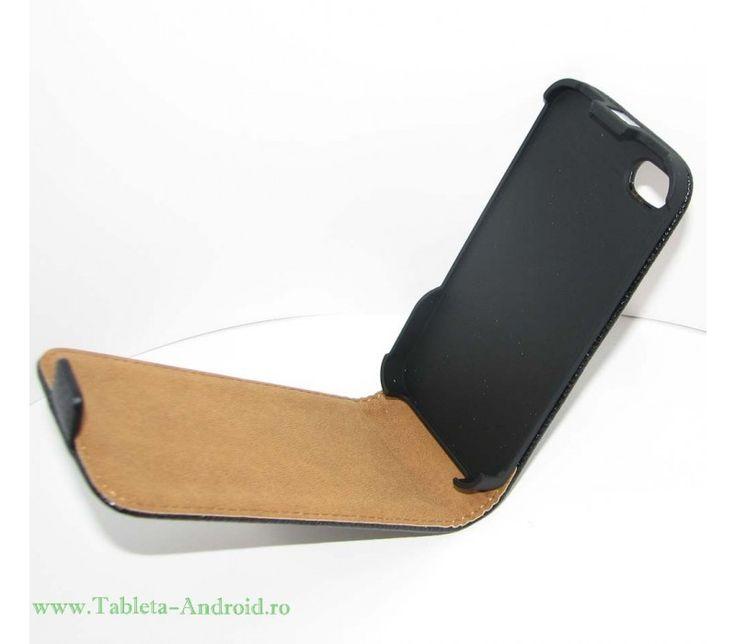 Husa Telefon iPhone 4GS - https://www.tableta-android.ro/huse-telefoane/husa-telefon-iphone-4gs-tip-flip-cover-black.html