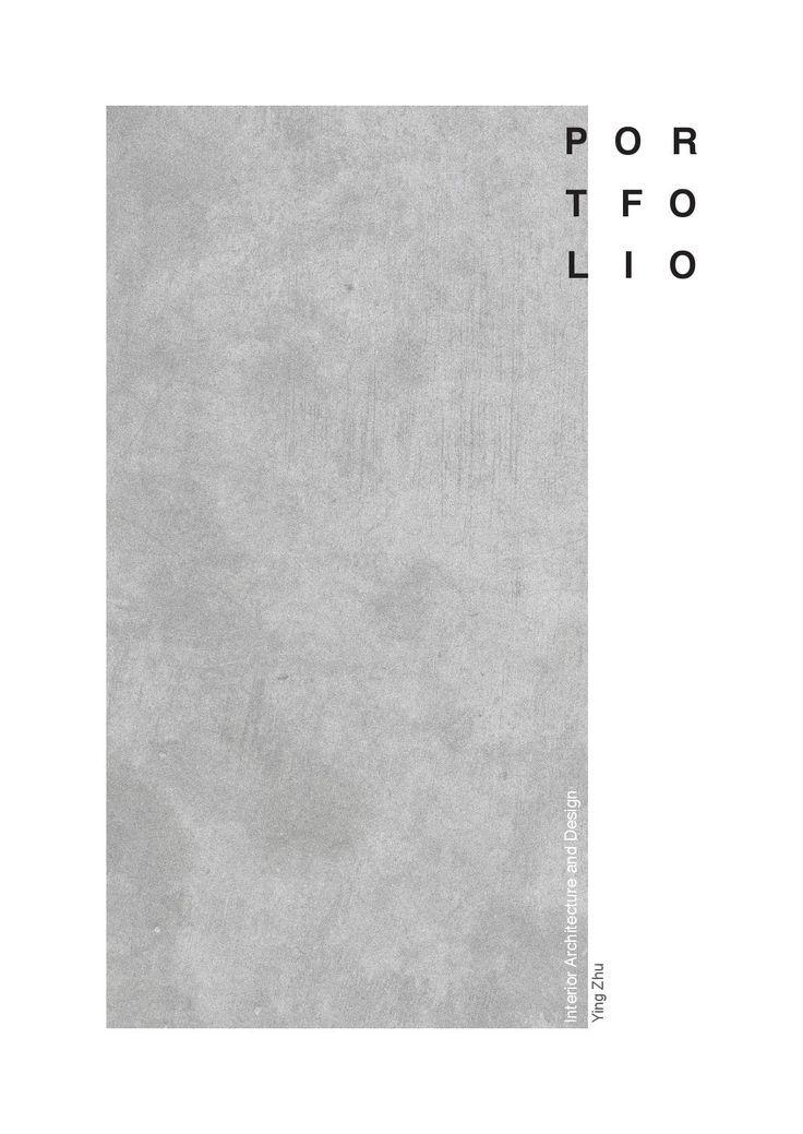 Portfolio - Interior Architecture and Design
