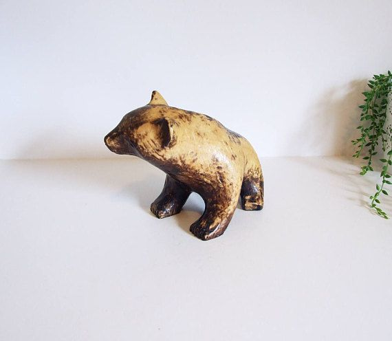 Carl Roos Hammerdal Bear / / 60s Swedish Design / / mid