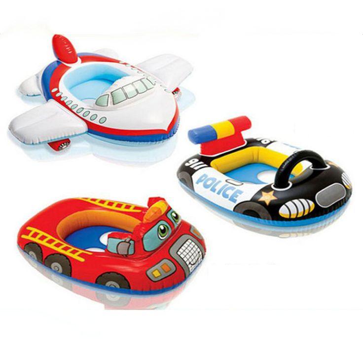 Bonne qualit mignon enfants bateau b b gonflable tours for Accessoire piscine 62