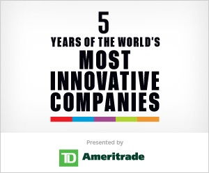 THE WORLD'S TOP 10 MOST INNOVATIVE COMPANIES IN MUSIC