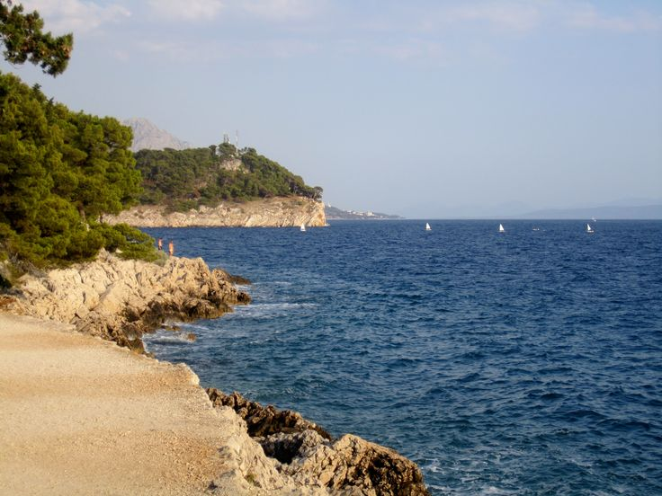 Adriatic Sea coast in Croatia