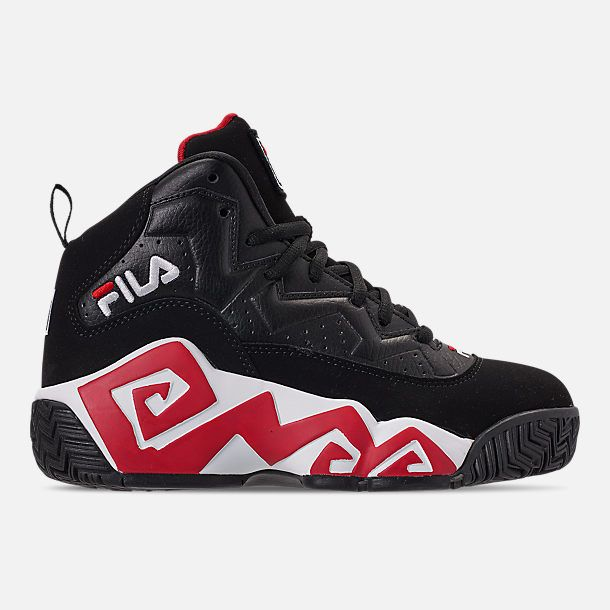 Right view of Boys' Big Kids' Fila MB Basketball Shoes in