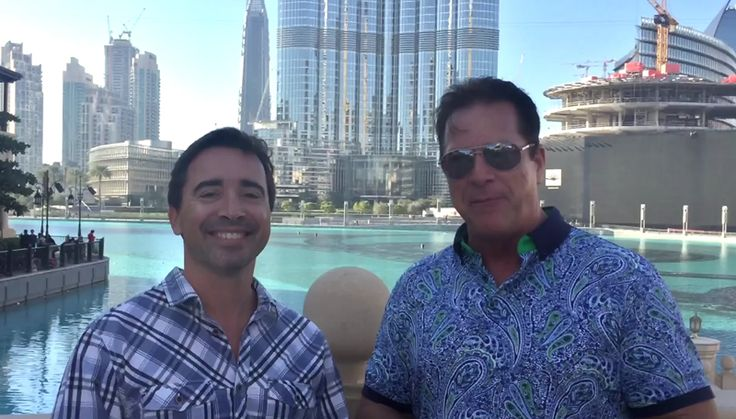 From Dubai ~ Steve Merritt with Ricardo NEW Jeunesse Sapphire Executive in Dubai!
