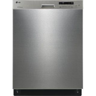 [Lave-vaisselle LG à commandes semi-intégrées avec le système EasyRack polyvalent - acier inoxydable]
