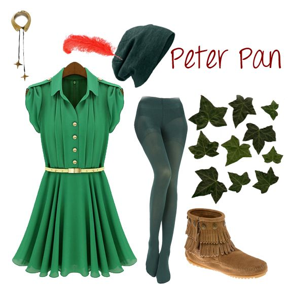 my peter pan costume for halloween costume party. Black Bedroom Furniture Sets. Home Design Ideas