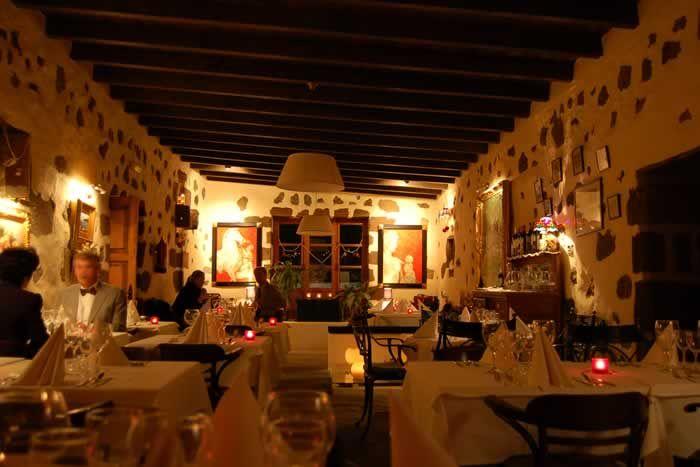 The atmospheric restaurant of La Casona de Yaiza #Lanzarote #Yaiza