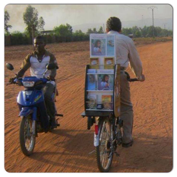 In Cote d Ivoire,' another form of public witnessing.