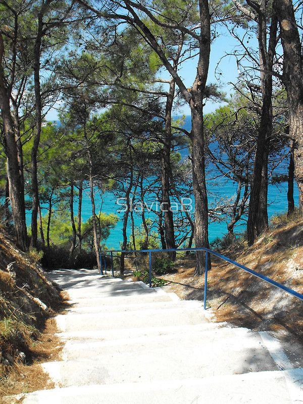 Greek Island Beach Samos