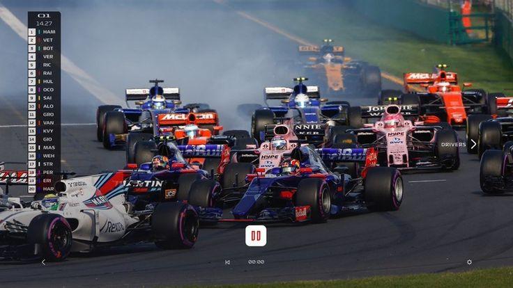 Formula 1 launching F1 TV streaming service for 2018 season