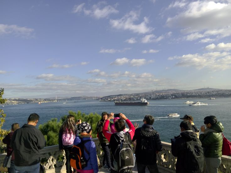 view from the tour of topkapi palace