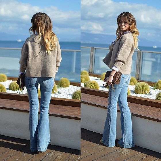 Get this look: http://lb.nu/look/8492471  More looks by Tamara Bellis: http://lb.nu/tamarabellis  Items in this look:  Zaful Sweater, H&M Jeans, S Oliver Bag, Zaful Necklace, Wear Me Pro Shades   #chic #retro #street