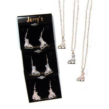 Figure Skate Jewelry | Crystal Earrings and Necklace Pack | Jerry's | www.discountskatewear.com