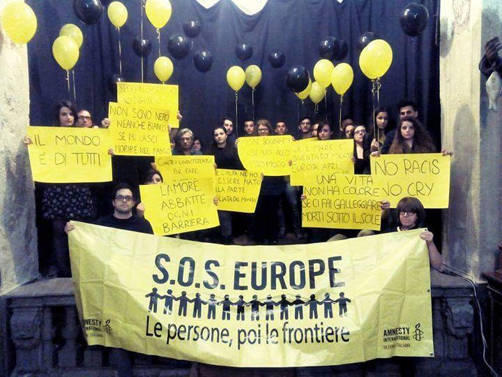 #SosEurope Peolple before