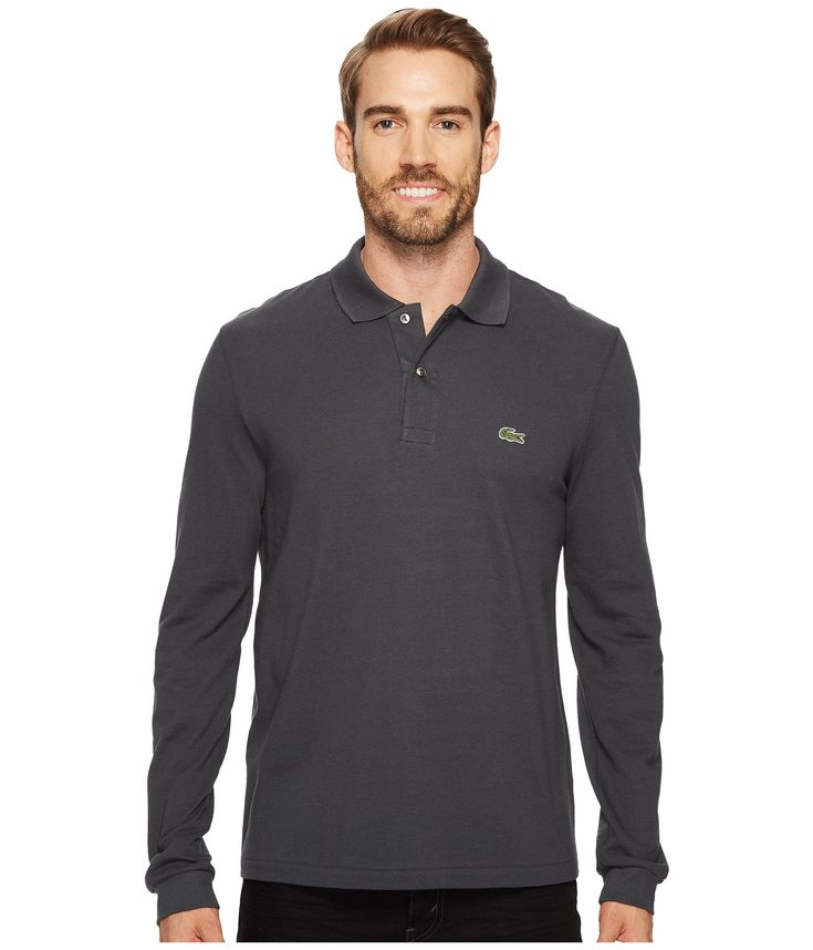 LACOSTE L/S Classic Pique Polo. #lacoste #cloth #