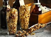 India Pale Ale Caramel Corn Recipe from Betty Crocker