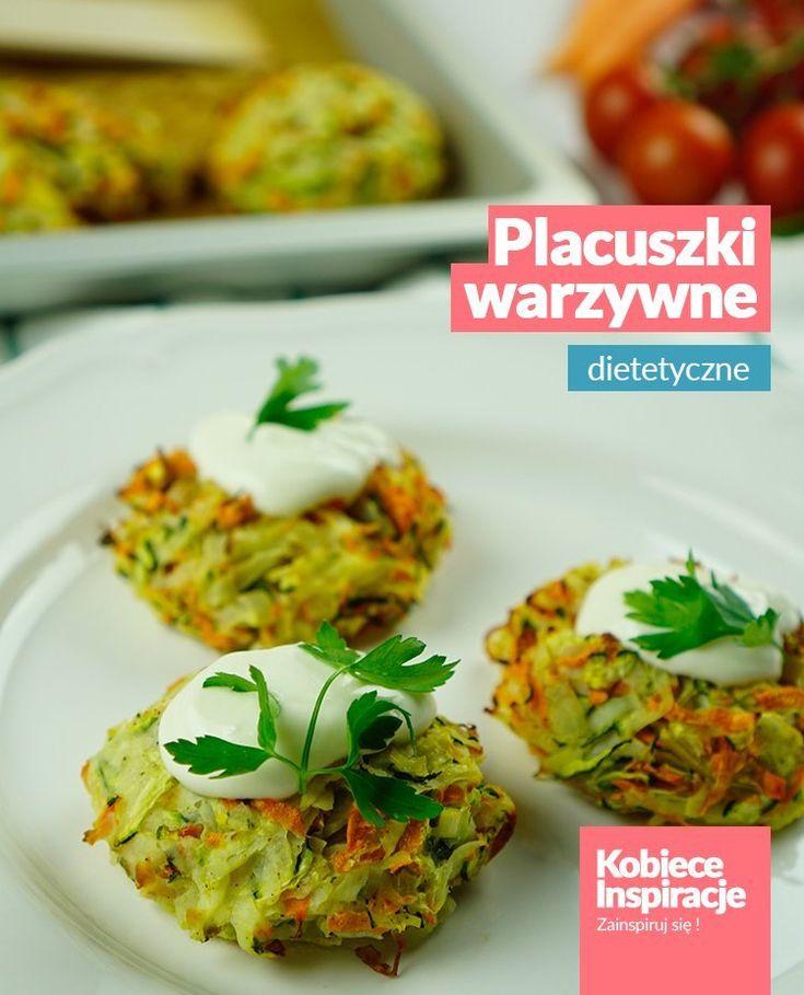 Dietetyczne placki warzywne