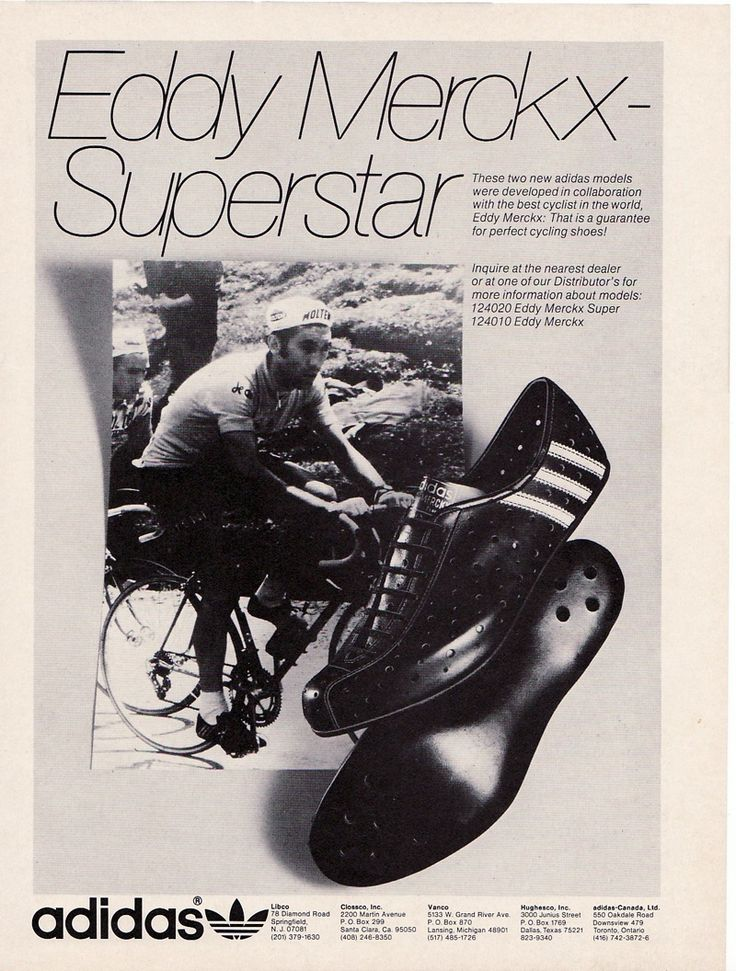 Wanna ride like The Cannibal? Then you need shoes like The Cannibal.