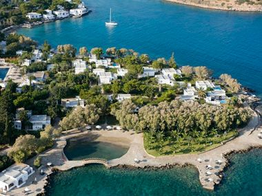 Agios Nikolaos, Crete - While you're there: Spend a day cruising around the nearby Dodecanese Islands (Patmos and Leros) and Cyclades Islands (Amorgos and Santorini).