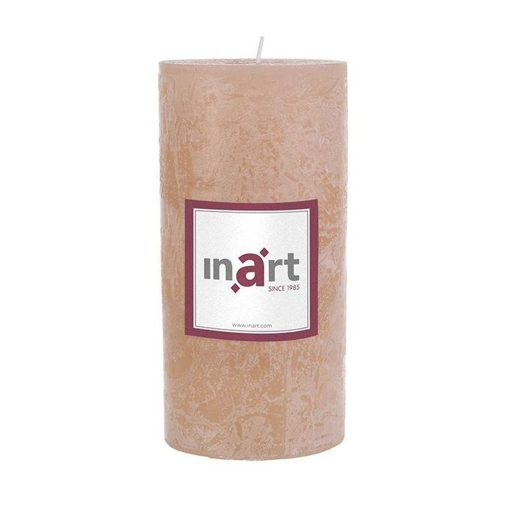 Pillar Paraffin Scented Candle 7x15 cm - Candles - Aromatics - DECORATIONS - inart