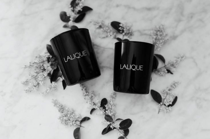 Lalique Candles