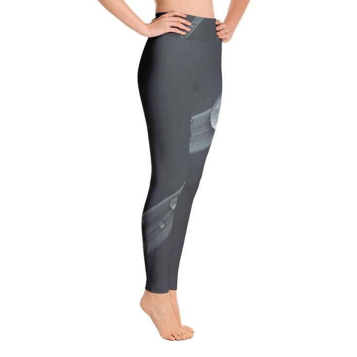 Grey Slide Yoga Leggings