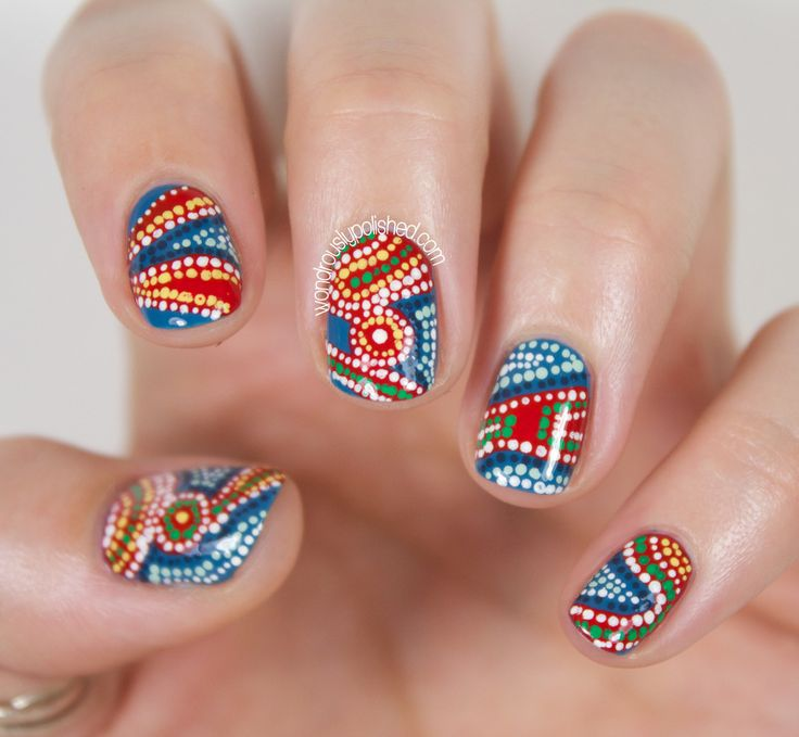 28 best australia day nails images on pinterest australia day just one nail tho lol prinsesfo Gallery