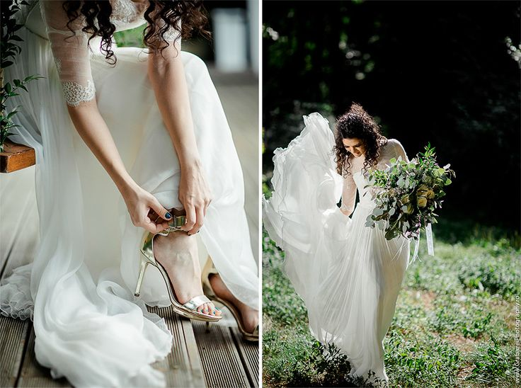 must have bridal portrait on your wedding day #grabazei #weddingphotoideas #bridalportrais #bridalpreparations #gettingreadybride #weddingshoes