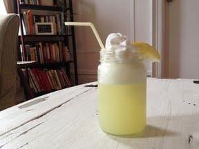 Lemon Ice Cream Soda Float