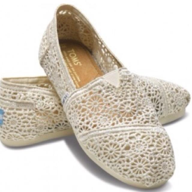 Crochet tomsLace Toms, Fashion Shoes, Crochet Shoes, Crochet Toms, Style, Wedding Shoes, Tom Shoes, Woman, Nature Crochet