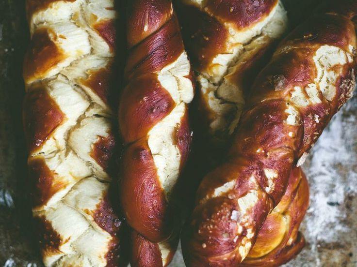pretzel challah | Bakery and Savoury Breads | Pinterest