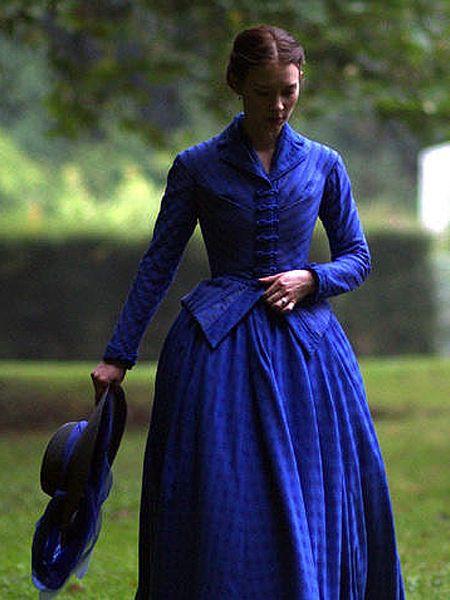 "Mia Wasikowska - ""Madame Bovary"" (2014) - Costume designer :Christian Gasc"