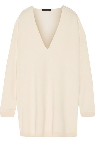 The Row - Miru Oversized Wool Sweater - Cream - x large