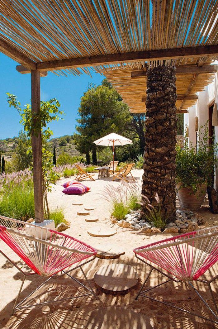 Mooi mediterraan gevoel.