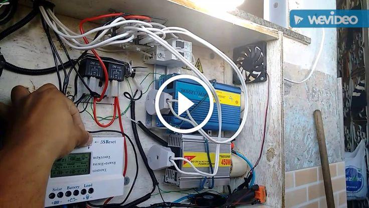 Painel solar caseiro 8 - Comutação automática entre rede e sistema de energia solar off-grid.                                           Uma pequena atualização em meu sistema de energia solar. A implantação de um sistema automático de comutação entre a rede da concessionária de energia e sistema off-grid. Abaixo, coloquei o link de onde comprar o relé de comutação JQX-12F 2Z 12V DC... construindo painel fotovoltaico, construindo painel solar, construindo paine