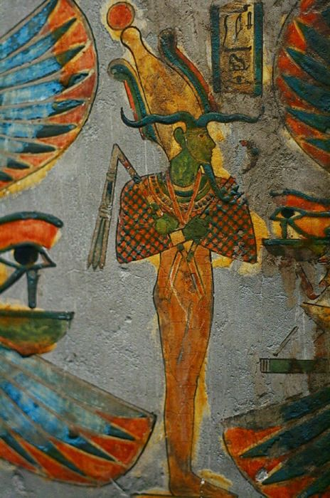 Ancient Egyptian Art & Hyroglifics at The British Museum in London, UK