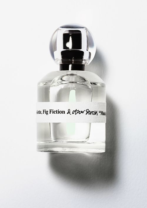& Other Stories   Fig Fiction Eau de Toilette. Plump blackcurrant berries are swept away by green bamboo and wild fig, enhanced with the softness of Brazilian rosewood and dark plum. Rare, graceful, dream inducing.